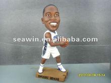 NBA super star Dwight Howard fashion resin doll/shake head dolls