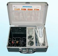 TV Controled Skin and Hair Tester