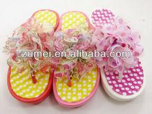 PVC flower fashion sandal 2012