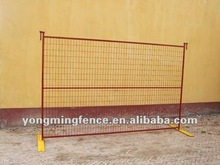 6 x 9.5 ft welded portable fence panel for canadian and american markets/powder coated