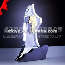 NO.1 Shape Crystal Award for Competition in Shenzhen Factory