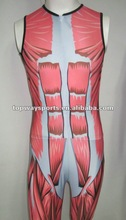 New style human skeleton cycling skinsuit,OEM service