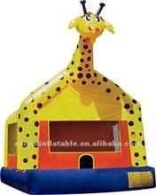 inflatable Giraffe moonwalk ,jumping bouncy