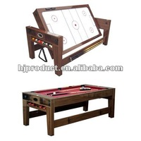 Customized design 2 in 1 rotating game table