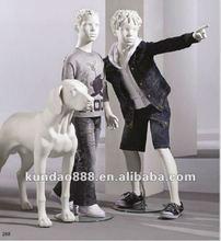 fashion fiberglass mannequin dog
