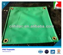 Custom PVC Knife Coated Green Tarps For Truck Cover
