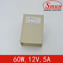 LED Rain-proof external power supply 12v 5v(SMFY-60-12)