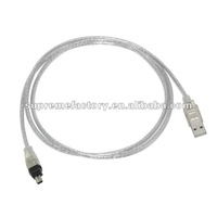 For 1.4M USB to IEEE 1394 4-Pin Firewire Cable