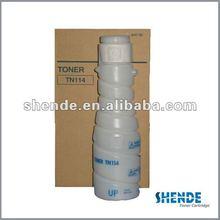 Toner cartridge TN114 for Konica Minolta bulk color powder