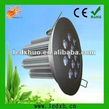single heatsink 12*3W high power LED ceiling down light