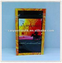 2012 colorful mini zipper bag/small aluminum foil ziplock bag