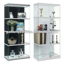 aluminum and glass display showcase