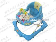 Di plastica giocattoli go cart Walker/girello