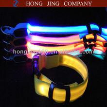 LED pets collar and leashes Type led flashing dog collar