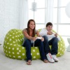 6 ft. Twill Fuf Foam Bean Bag Sofa
