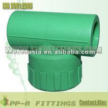 threads PPR fittings plastic tee