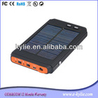 solar laptop charger for notebook/laptop/phone 11200mAh