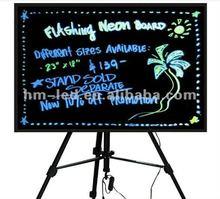 flash led writing board/led flash writing board