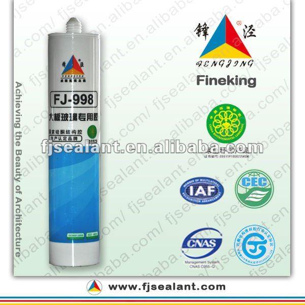 FJ-998 300ml strong adhesion big glass silicone sealant
