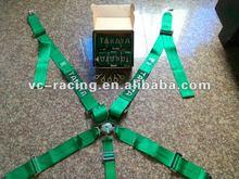 2012 Hot Selling FIA 2017 Homologation Eyebolts 3 inch Racing Seat Belt Harness