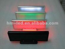 alibaba express , aluminum frame ,Light weight ! led table sign/led desk message sign