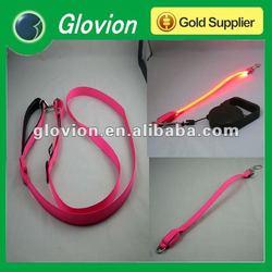 NEW Customized flashing dog leash electronic dogs leash LED light-up dog leashes