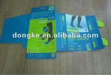 2012 new design pvc box for socks packing
