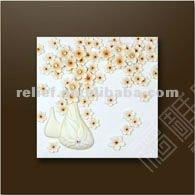 handmade wall art relief flower oil painting