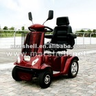 Foldable battery mobility scooter for handicapped people DL24800-3 with CE certificate