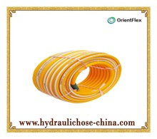 PVC power spray hose for spraying agricultural chemical, car washing