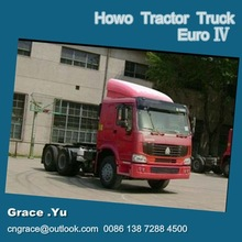 380hp 6x4 HOWO Tractor truck Euro 4