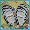 cute infant crib shoes soft zebra infant baby first walking shoes wholesale