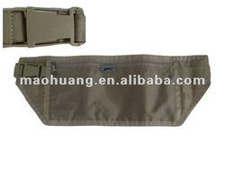 Luxury money belt,runner waist bag,collpapsible belt bag