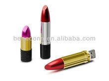 Lipstick Shape USB Flash Drive Cosmetics Promotion