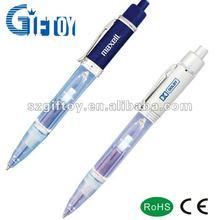 promotion plastic led pen