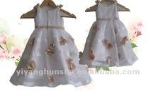 2012 Promotions Handmade Flower Girls Flower Girl Dress