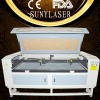 Double heads SUNY-1610T laser fabric cutter