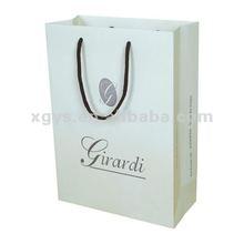 Cheap White Paper Bag Wholesale For Cloth (XG-PB-054)