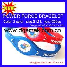 2012 leather bracelet -KANSAS JAYHAWKS