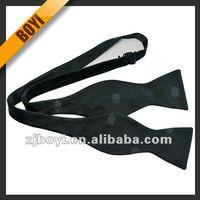 Jacquard Cheap Black Bow Ties