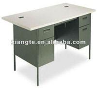 high quality double-pedestal desk, teacher's office desk