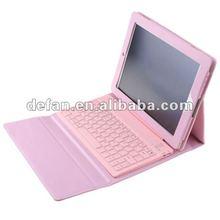 For iPad 2 Keyboard wireless bluetooth case, Folding Bluetooth Keyboard for Apple iPad 2/3, 5 colors