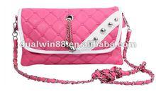 2013 hot leather women handbag PU cheap bag