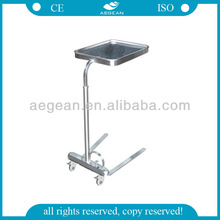 AG-SS008 Hot sales!!! 201 Stainless steel surgical instrument table