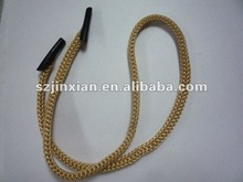 polyester braided bag handle with clips