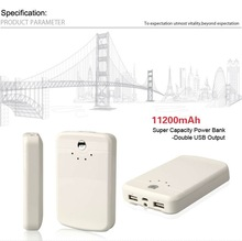 Portable Mobile Advanced Emergency Charger for all apple devices like iphone ipod ipad and most cell phones