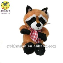 2012 new design brown plush animal