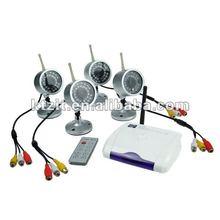 2.4GHz 4-CH Digital Wireless Night Vision Surveillance Camera Set (4-Cameras Set)