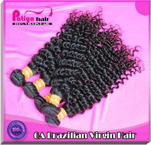 Deft design and cheap sales virgin Brazilian hair extensions plastic bags