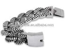 At present fashion bracelet and bangles, titanium steel domineering Bracelet, Heavy Mens Bracelet AB064